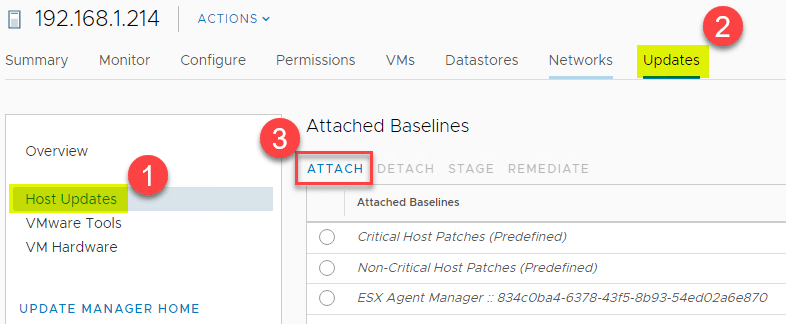 Attaching-the-new-baseine-group-to-the-host-for-multiple-patch-baseline-installs Select Multiple Patch Baselines in vSphere 6.7 Update 1 HTML 5 vSphere Client