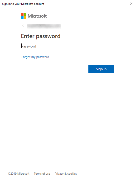 Entering-password-for-Azure-account Installing and Connecting PowerShell Az Module with Microsoft Azure