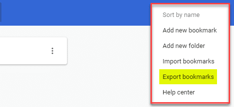 Export-bookmarks-elipse-only-contains-the-option-to-export-bookmarks Export and Import a Single Bookmarks Folder from Chrome