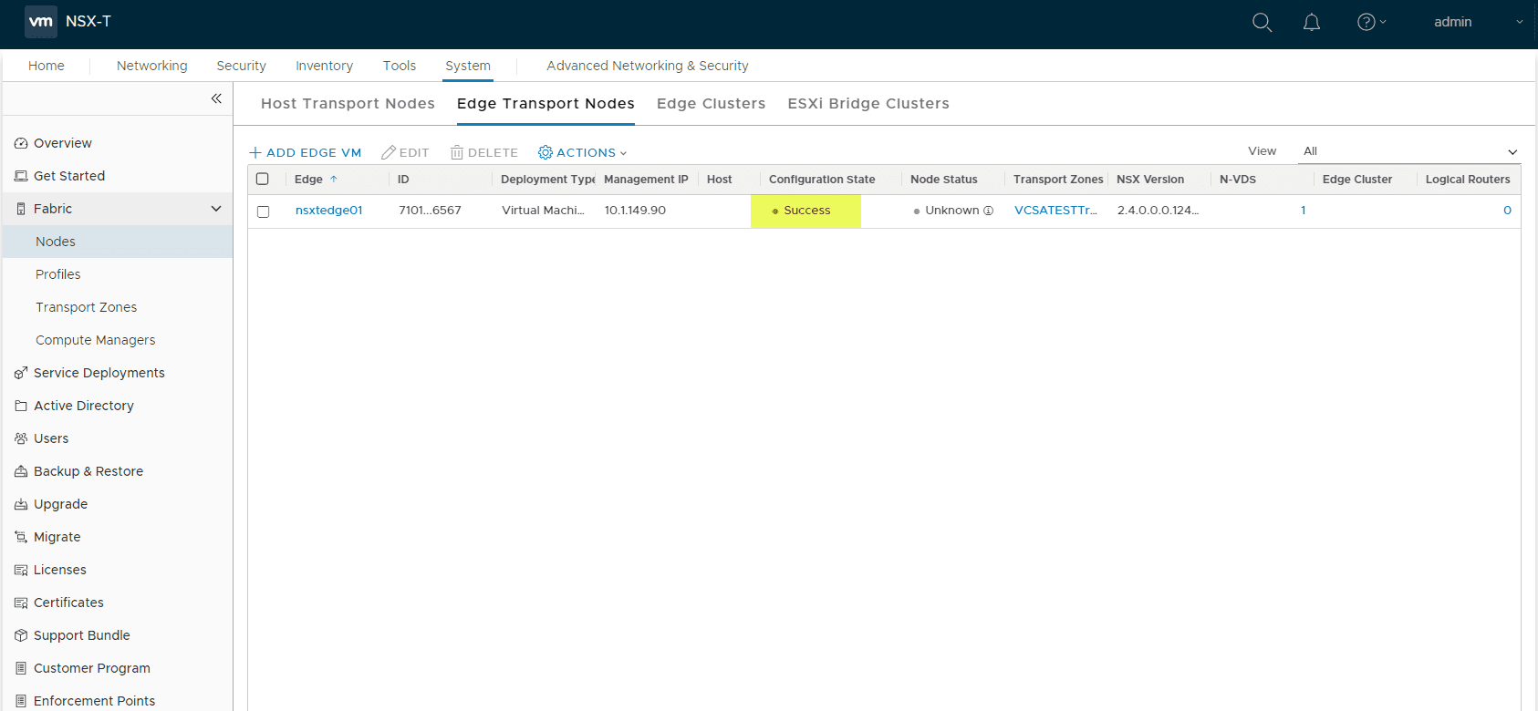 NSX-T-2.4-Edge-Transport-VM-Deployment-successful Deploy VMware NSX-T 2.4 Edge Transport Appliance VM
