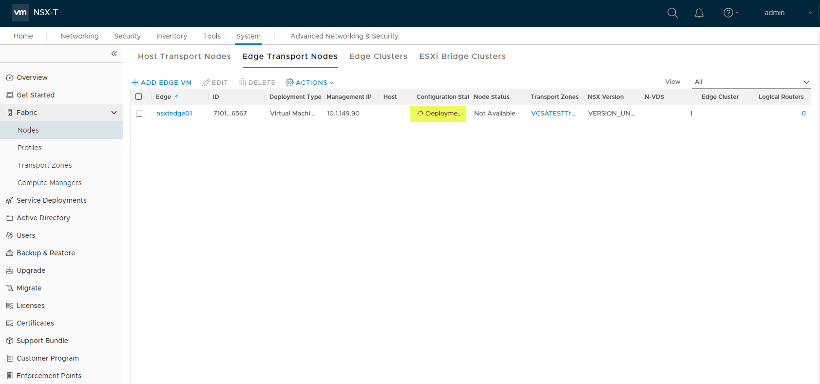 NSX-T-2.4-Edge-Transport-VM-deployment-in-progress Deploy VMware NSX-T 2.4 Edge Transport Appliance VM