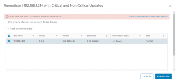New-baseline-group-assigned-to-host-and-is-correctly-pulling-all-available-updates-for-the-vShphere-ESXi-6.7-Update-1-host Select Multiple Patch Baselines in vSphere 6.7 Update 1 HTML 5 vSphere Client