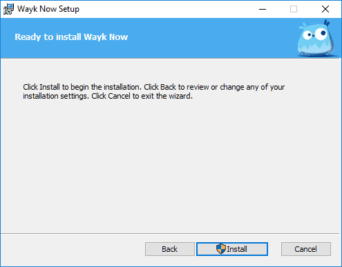 Ready-to-install-Wayk-Now-with-the-configured-options Devolutions Wayk Now Free Remote Access Tool