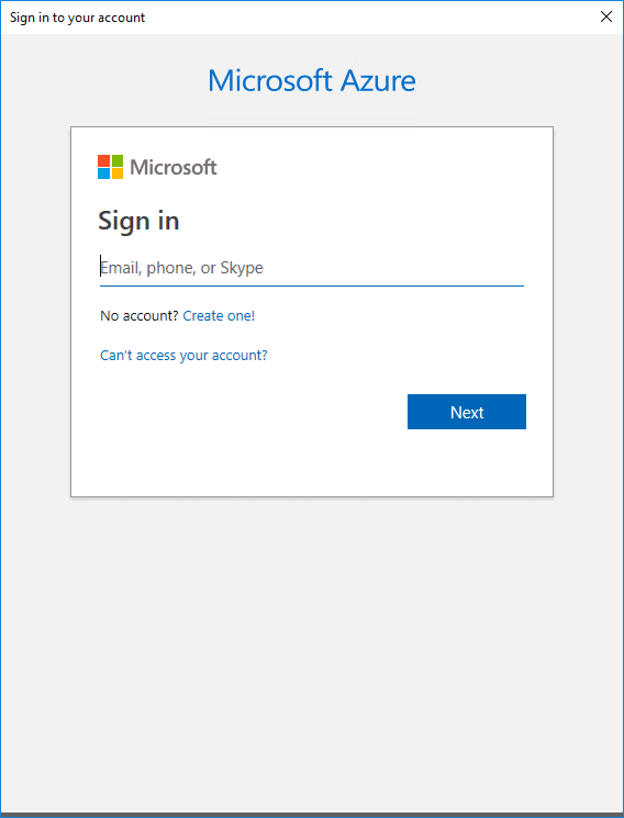 Signing-in-as-normal-to-your-Microsoft-Azure-account Installing and Connecting PowerShell Az Module with Microsoft Azure