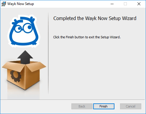 Wayk-Now-Installation-finished Devolutions Wayk Now Free Remote Access Tool