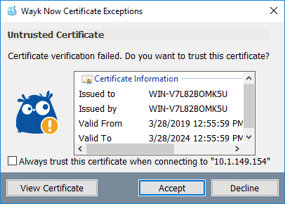 Wayk-Now-free-remote-access-tool-certification-notification Devolutions Wayk Now Free Remote Access Tool