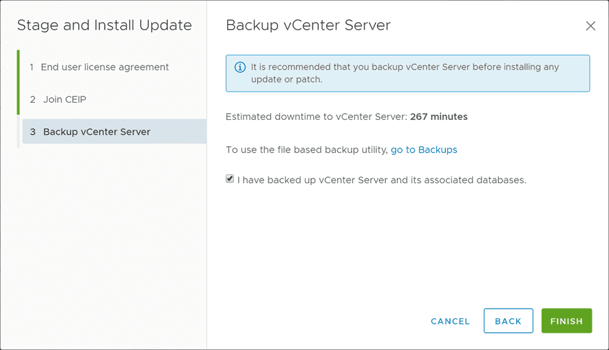Backup-vCenter-Server-before-upgrading-to-vSphere-6.7-Update-2