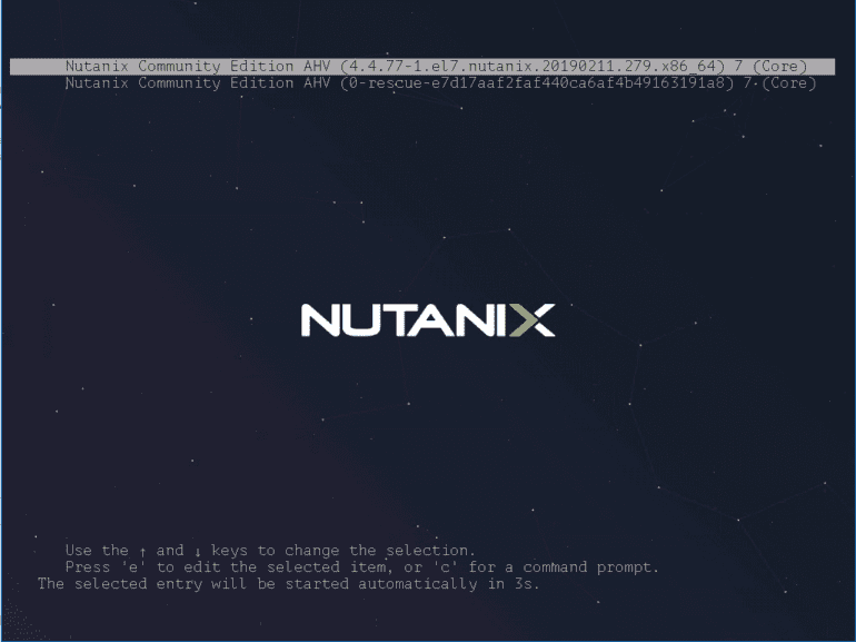 Booting-the-Nutanix-CE-VM-to-begin-the-installation Install Nested Nutanix CE in VMware vSphere ESXi 6.7 Update 1