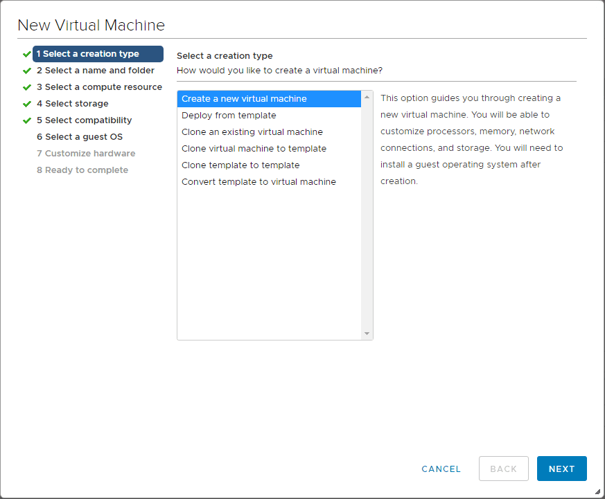 Creating-a-new-VMware-ESXi-virtual-machine-for-installing-Nutanix-CE Install Nested Nutanix CE in VMware vSphere ESXi 6.7 Update 1