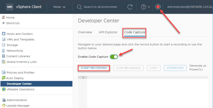 New VMware vSphere 6 7 Update 2 Client Developer Center API