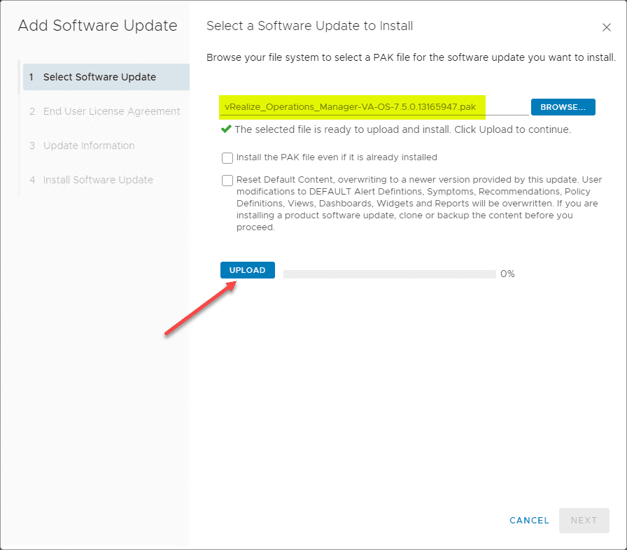 Uploading-the-VMware-vRealize-Operations-Manager-7.5-OS-PAK-upgrade-file