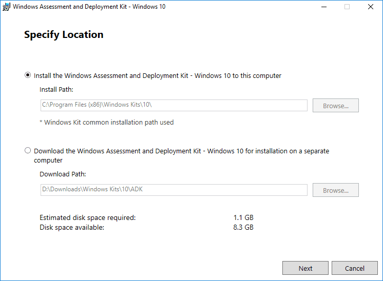 Beginning-the-Windows-Assessment-and-Deployment-Kit-installation-1 Create Unattend Answer File for Windows Server 2019 Automated Packer Installation