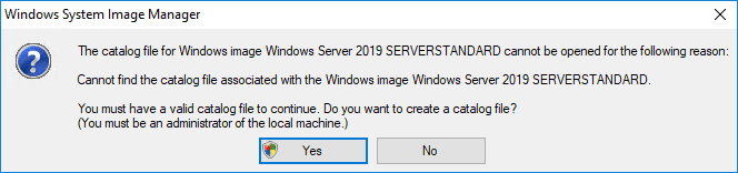 Cannot-find-the-catalog-file-prompted-to-create-one Create Unattend Answer File for Windows Server 2019 Automated Packer Installation
