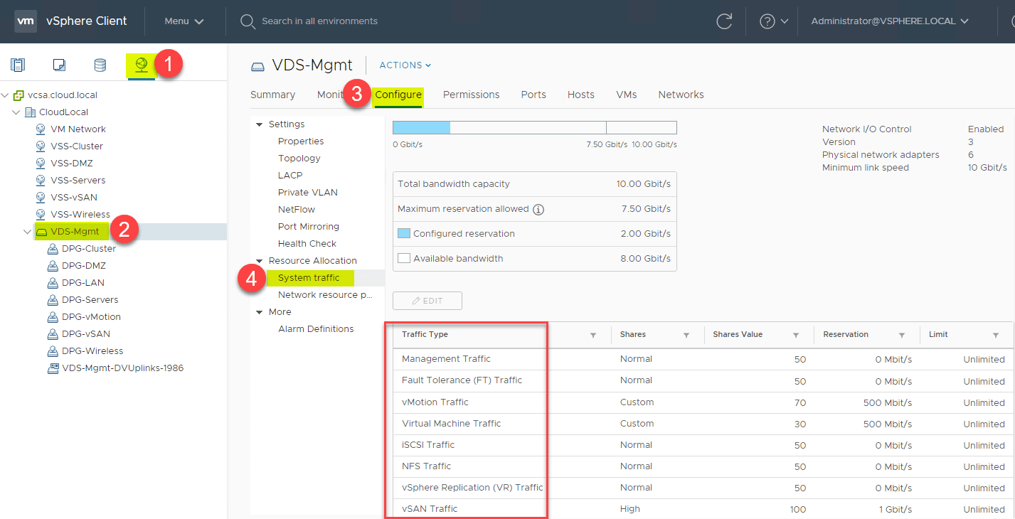 Navigating-to-configure-Network-IO-Control-on-a-vSphere-Distributed-Switch
