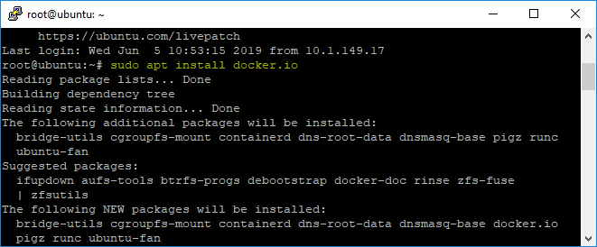 Installing-Docker-in-Ubuntu-18.04 New vSphere Mobile Client Fling with Docker Container Notification Service