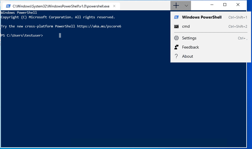 New-Windows-Terminal-Preview-application-showing-multi-scripting-language-support Windows Terminal Preview Download Link Posted in Windows Store