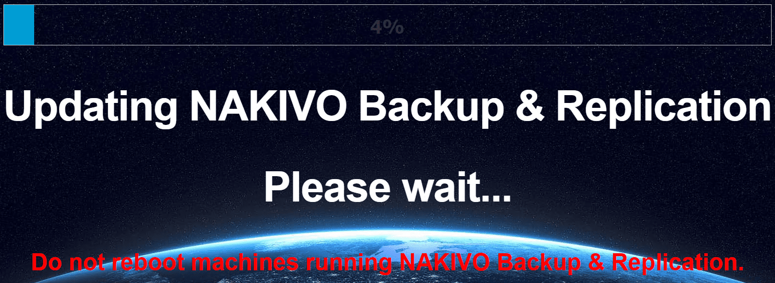 The-NAKIVO-Backup-Replication-v8.5.2-update-begins-applying-to-the-appliance NAKIVO Backup and Replication v8.5.2 Released with VMware vSphere 6.7 Update 2 Support