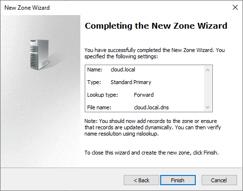 Completing-the-new-DNS-zone-wizard-using-the-exported-DNS-zone-file Export and Import DNS Zone with PowerShell from One Server to Another