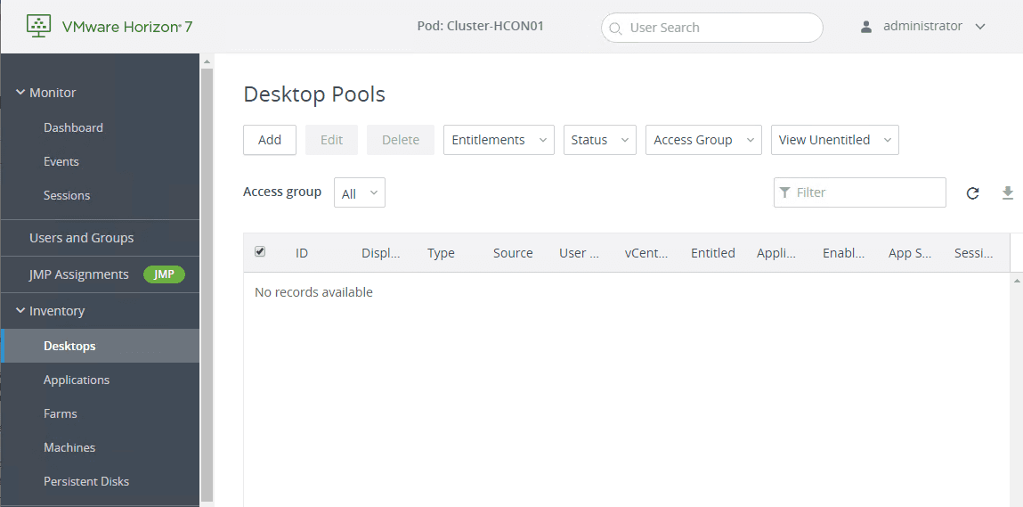 Create-desktop-pools-in-Horizon-7.9-Console Installing VMware Horizon 7.9 Connection Server Step-by-Step