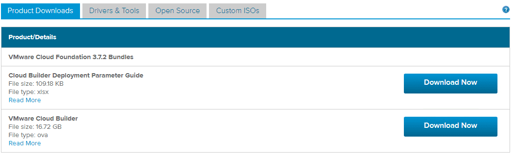 Downloading-the-VMware-Cloud-Foundation-Cloud-Builder-OVA-to-deploy-NSX-T Get Access to Download NSX-T Bits with VMware Cloud Foundation