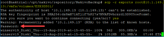 Copying-over-the-exported-files-directly-from-the-NAKIVO-appliance-to-the-ESXi-host Easily P2V Physical Windows Servers to VMs with NAKIVO