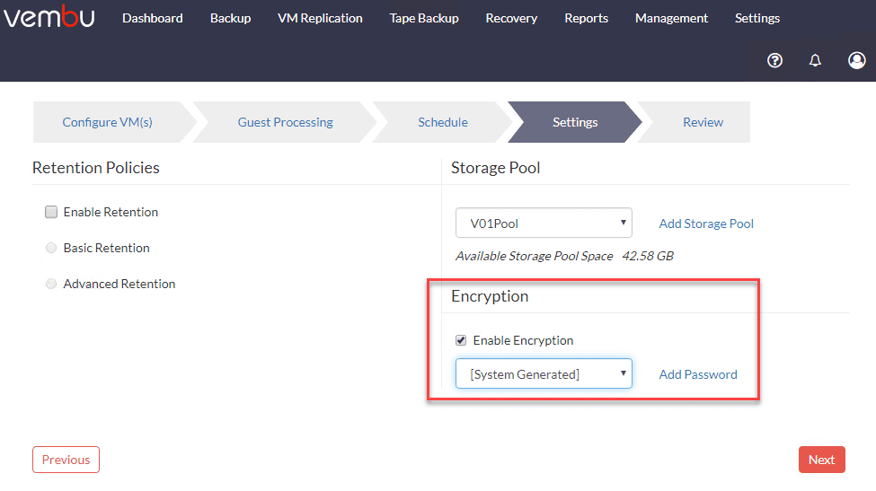 Enabling-Encryption-on-a-VM-backup-job-in-Vembu-BDR-Suite VMware vSphere Backup Best Practices
