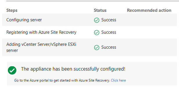 Finished-applying-the-configuration-to-the-Azure-Site-Recovery-configuration-server Configure Azure Site Recovery Configuration Server for VMware Replication