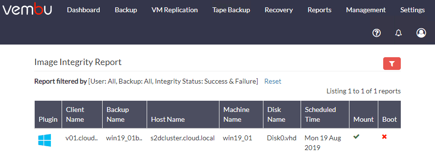 Performing-automated-checks-on-a-Vembu-BDR-Suite-Backup VMware vSphere Backup Best Practices