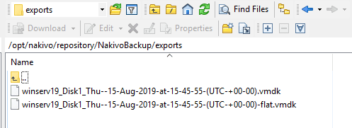 The-physical-server-backup-disk-is-exported-to-the-NAKIVO-repository-directory-as-a-VMDK-set Easily P2V Physical Windows Servers to VMs with NAKIVO