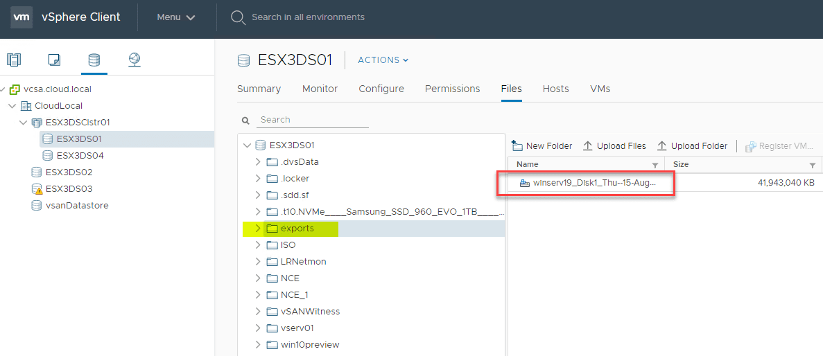 Viewing-the-exported-physical-server-VMDK-on-the-ESXi-host-datastore Easily P2V Physical Windows Servers to VMs with NAKIVO