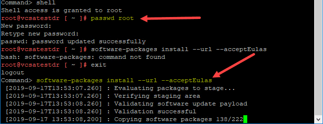 Change-the-root-password-and-reinstall-VCSA-software-updates vCenter Update Failed Fix and Reset Banner Error
