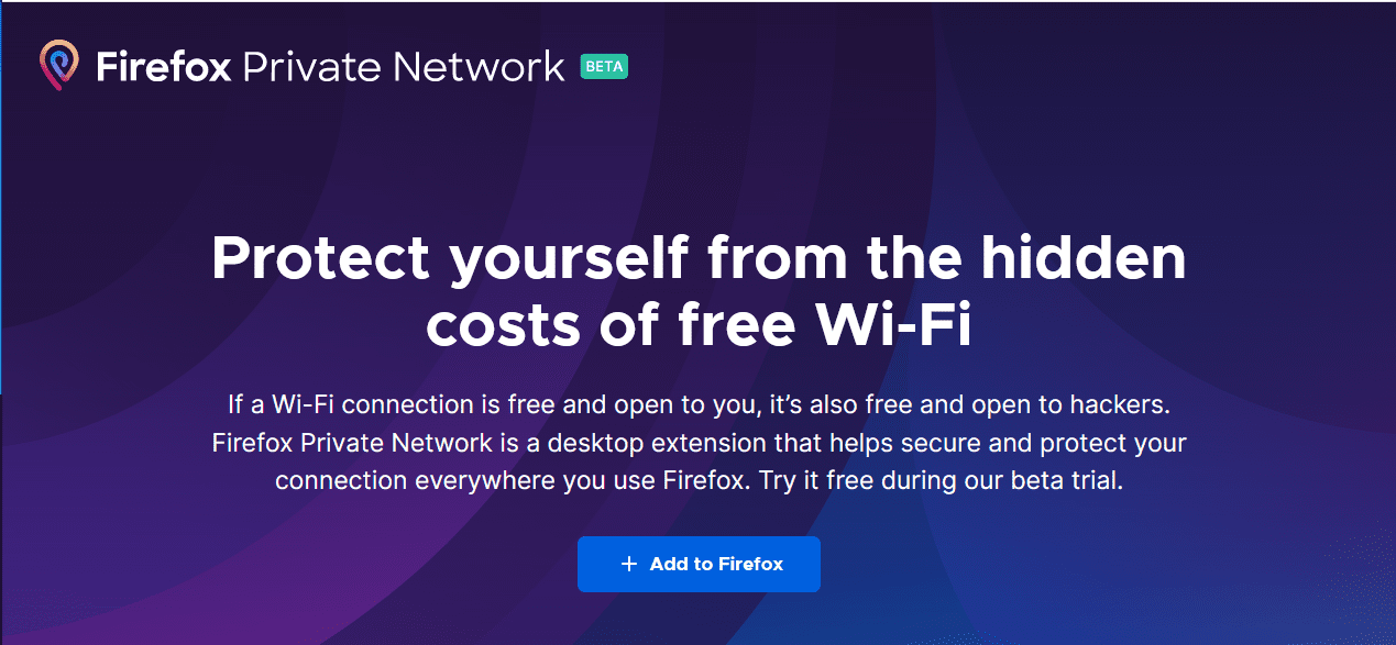 Firefox-Private-Network-protects-your-Internet-traffic Protect Internet Privacy Install Firefox Private Network