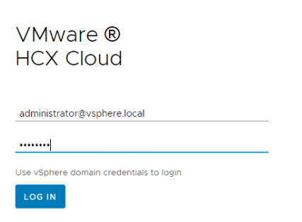 Logging-into-the-VMware-HCX-manager-appliance What is VMware HCX?