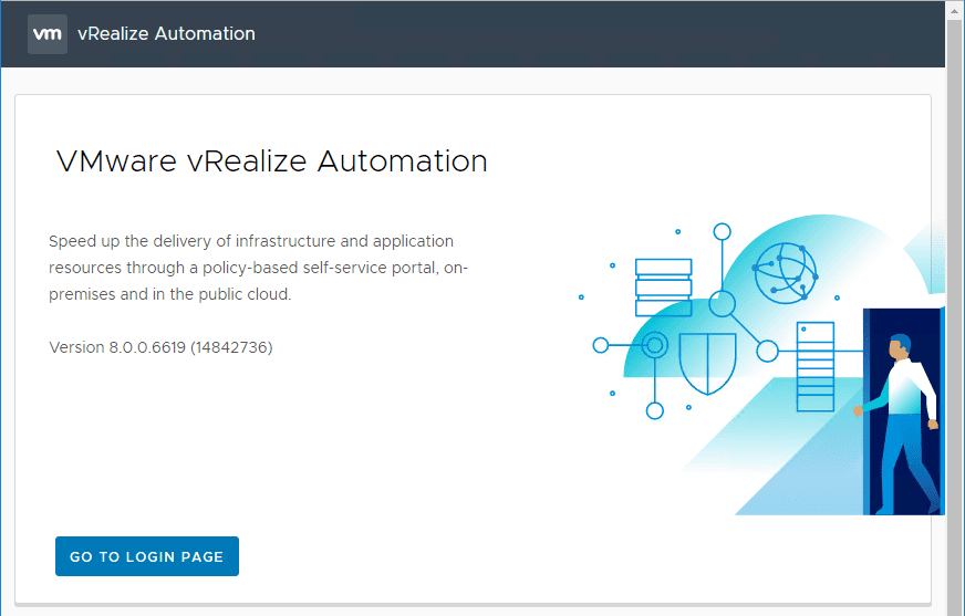 Navigate-to-your-vRealize-Automation-8-page-and-begin-the-configuration vRealize Automation 8 Install and Configuration
