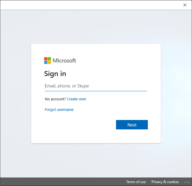 Sign-in-to-your-Microsoft-account Get Windows 10 November 2019 Build Early