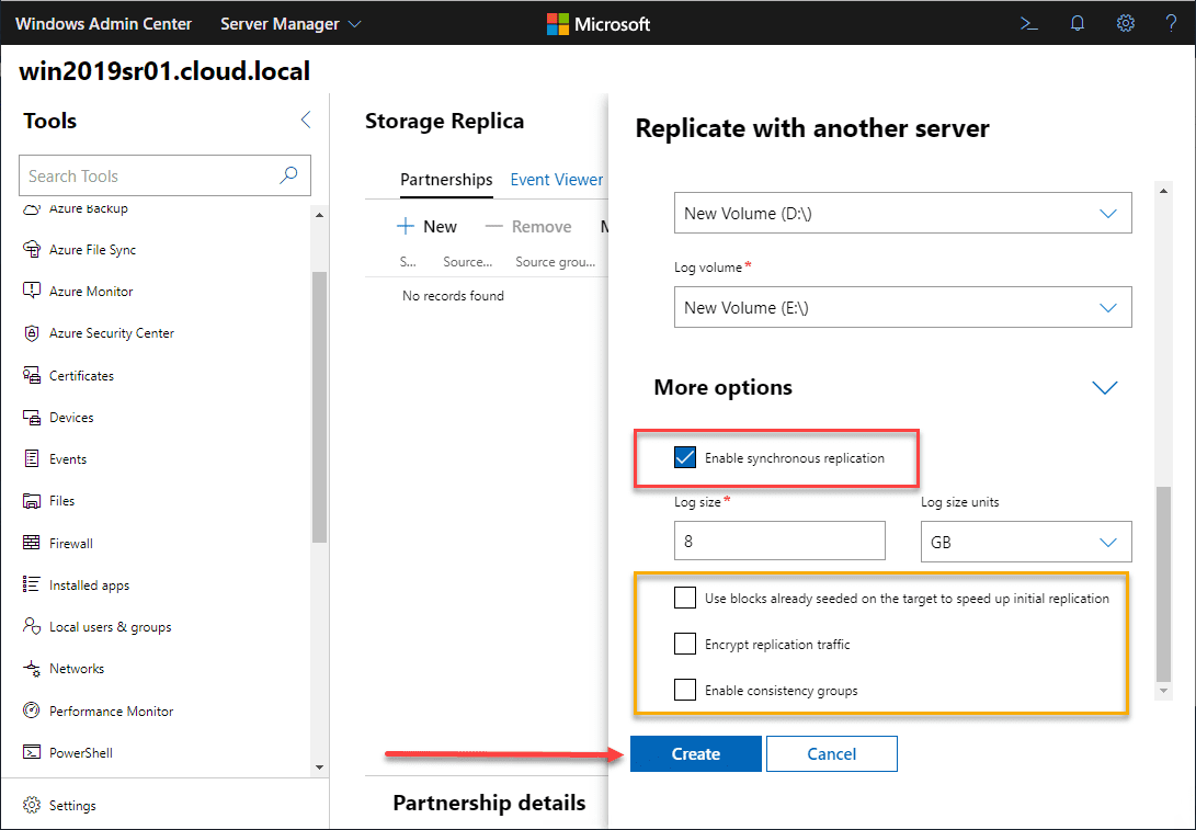 Exploring-additional-options-with-Storage-Replica-in-Windows-Server-2019 Storage Replica in Windows Server 2019 Features and Configuration
