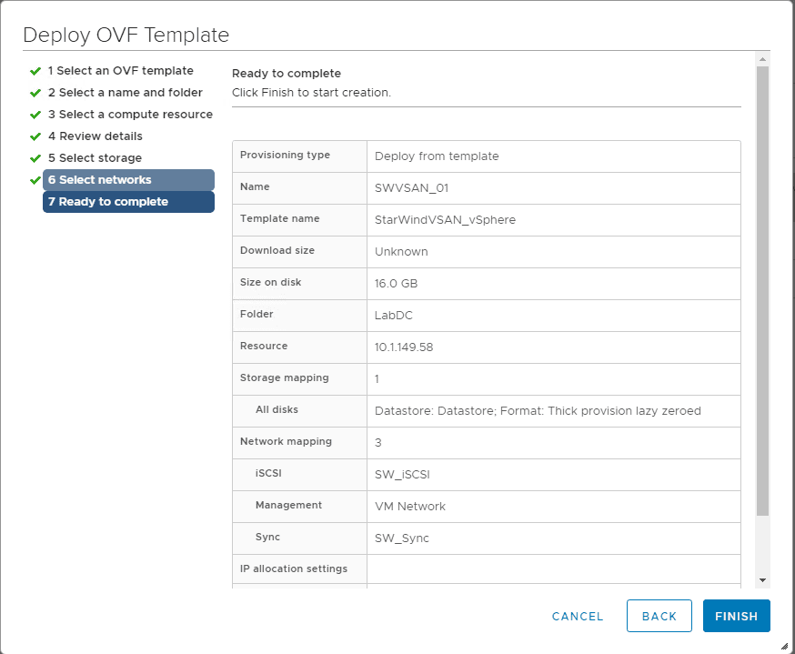 Ready-to-complete-the-deployment-of-the-StarWind-Linux-virtual-appliance StarWind VSAN for vSphere Virtual Appliances