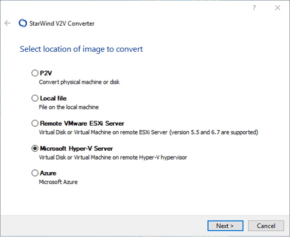 StarWind-V2V-Converter-allows-easily-converting-between-disk-types-and-even-Azure-virtual-machines Free Tools to Convert VHD to VMDK and Vice Versa