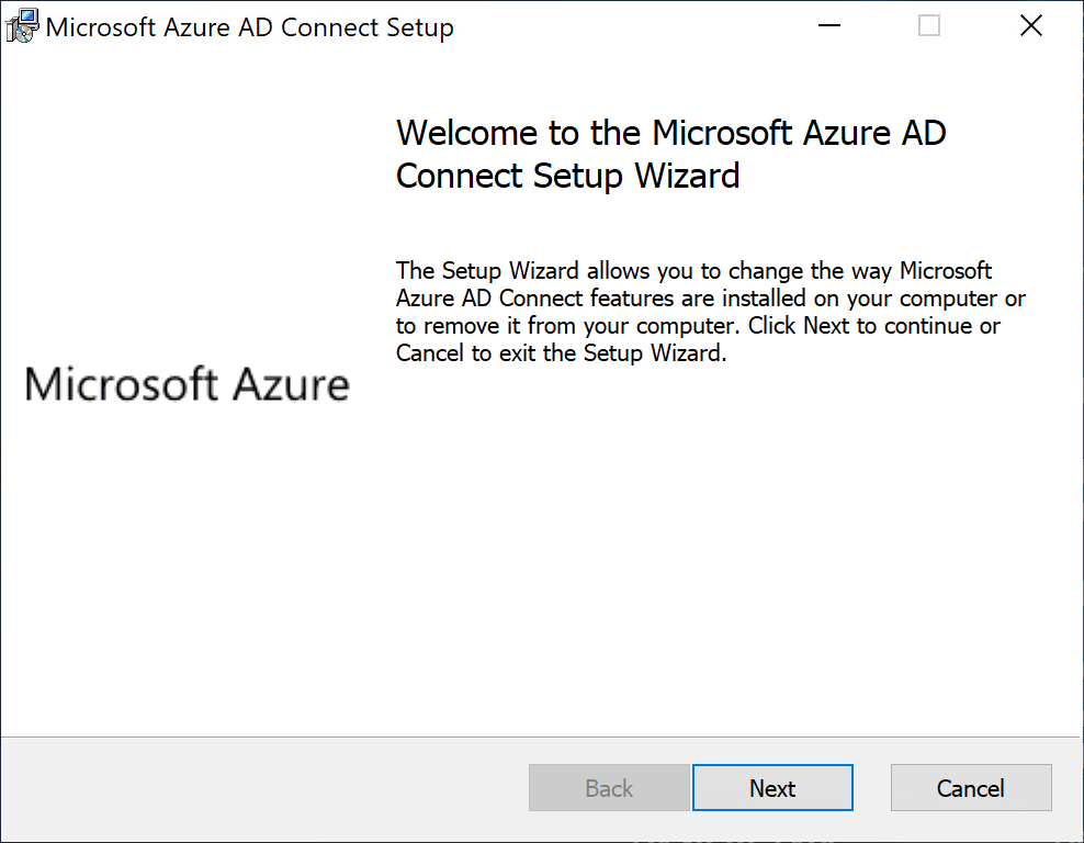 Beginning-the-Azure-AD-Connect-setup Sync On-Premises AD with Azure AD using Azure AD Connect