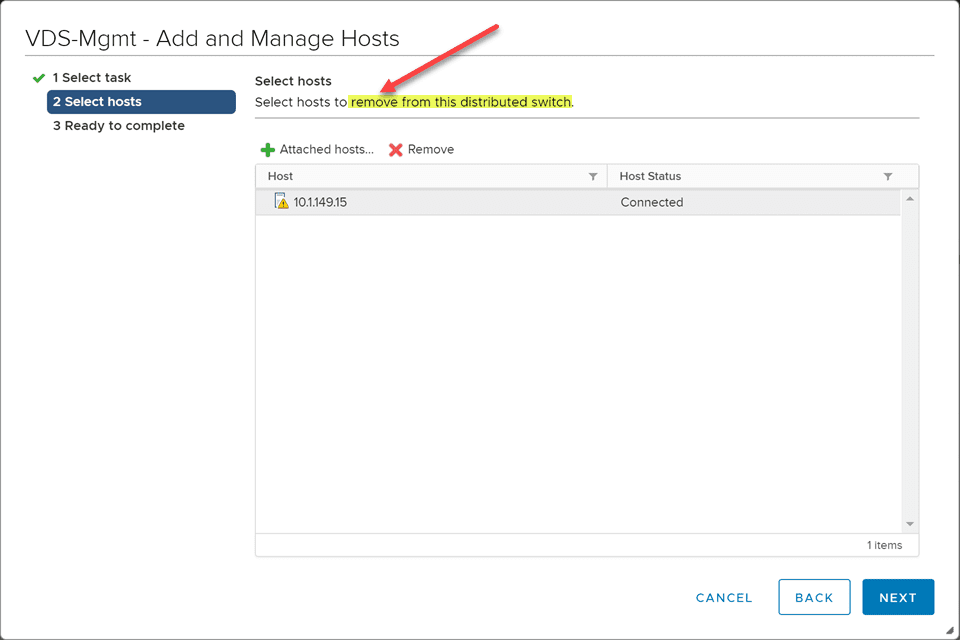 Removing-the-nonexistent-VDS-switch-from-the-rebuilt-ESXi-host Rebuild Failed vSAN ESXi Host