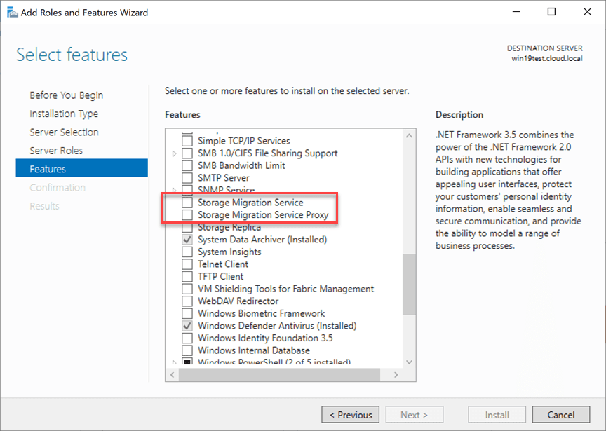 Services-that-get-installed-when-you-install-in-Windows-Admin-Center Migrate Windows Server 2008 R2 to 2019 with Storage Migration