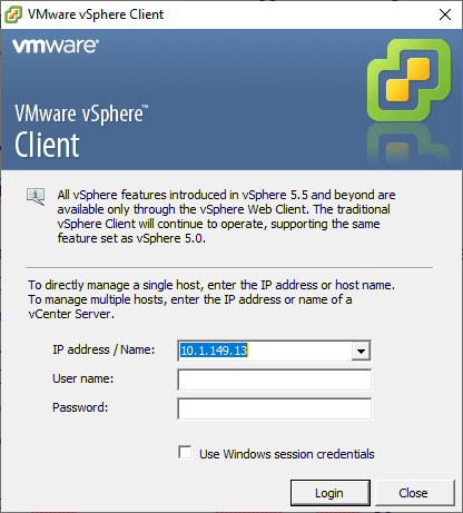 Using-the-vSphere-fat-client-to-login-to-your-ESXi-6.0-host-and-create-a-snapshot-of-your-VCSA-6.0-appliance