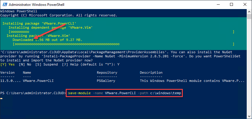 VMware-PowerCLI-Download-to-a-folder-of-your-choosing VMware PowerCLI Download and Install Connect to vCenter