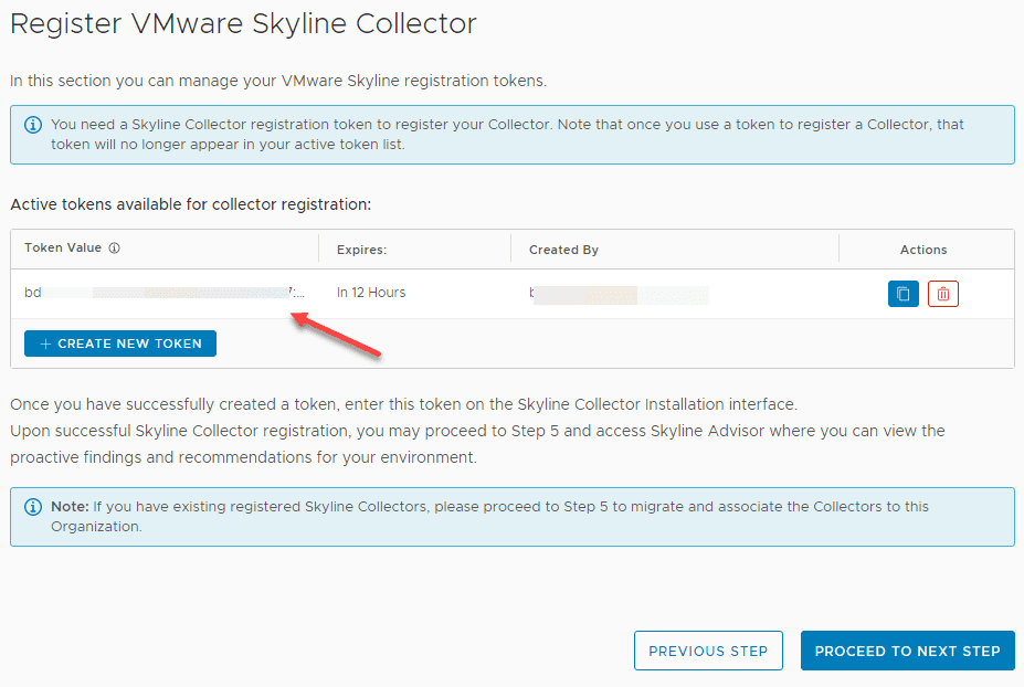 New-security-token-is-displayed-in-the-VMware-Skyline-cloud-interface-so-you-can-copy-it How to Install and Configure VMware Skyline