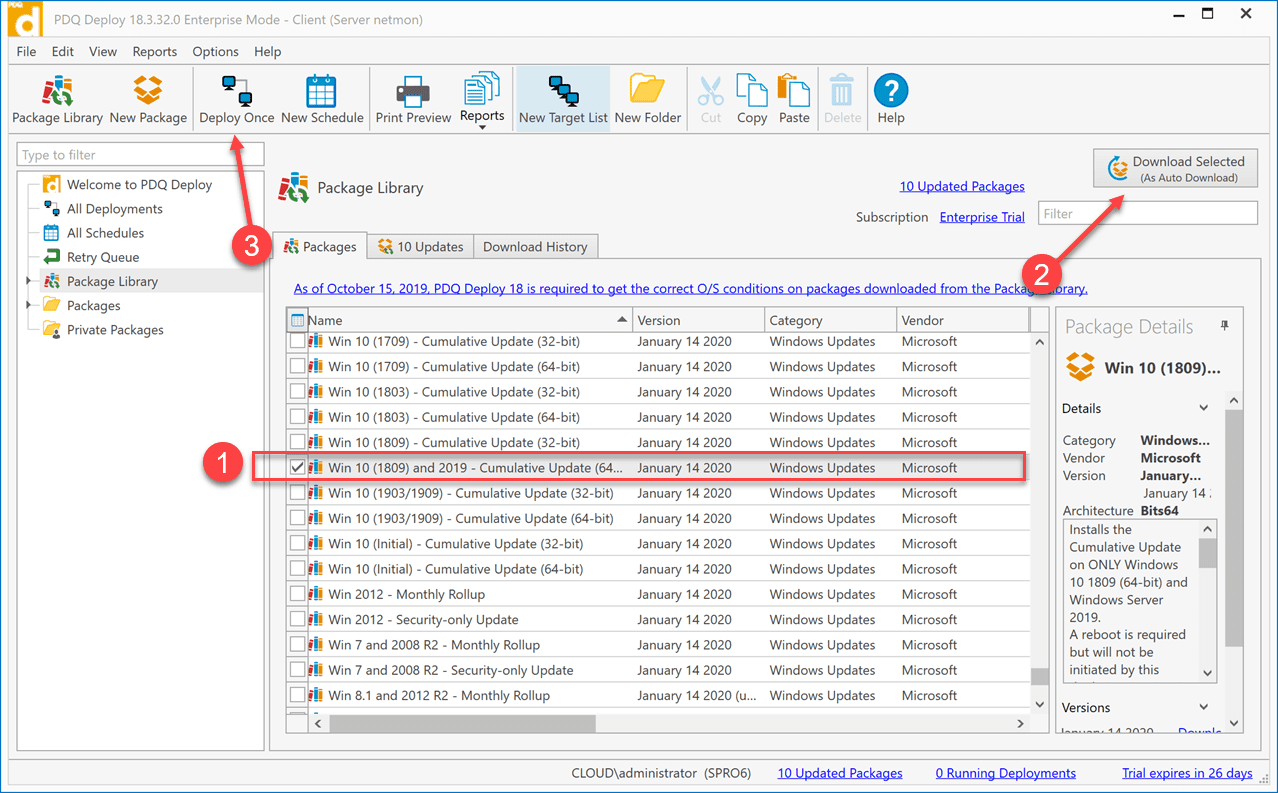 Selecting-and-downloading-the-needed-Windows-Update-package Deploy Windows Updates with PDQ Deploy