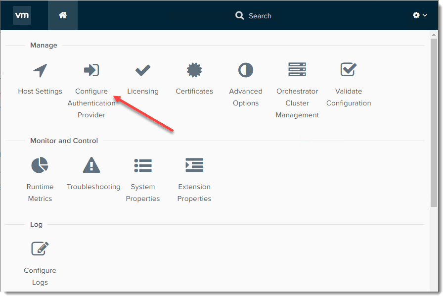 Configure-authentication-provider vRealize Orchestrator 8.0 Download Install and Configuration