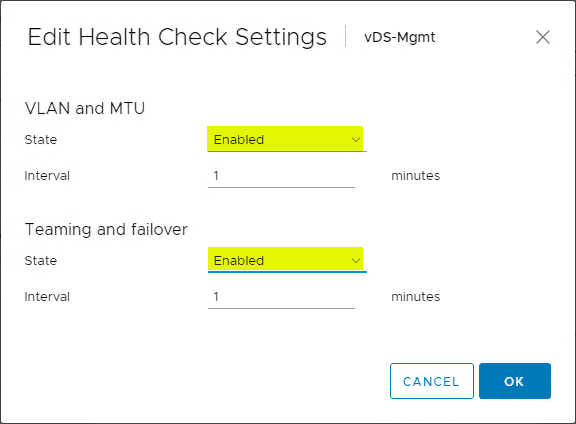 Edit-Health-Check-Settings What is the vSphere Distributed Switch Health Check?