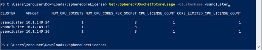 PowerCLI-tool-to-audit-current-VMware-vSphere-CPU-cores-for-licensing-change VMware Changing CPU License Model Limits Cores Per Processor