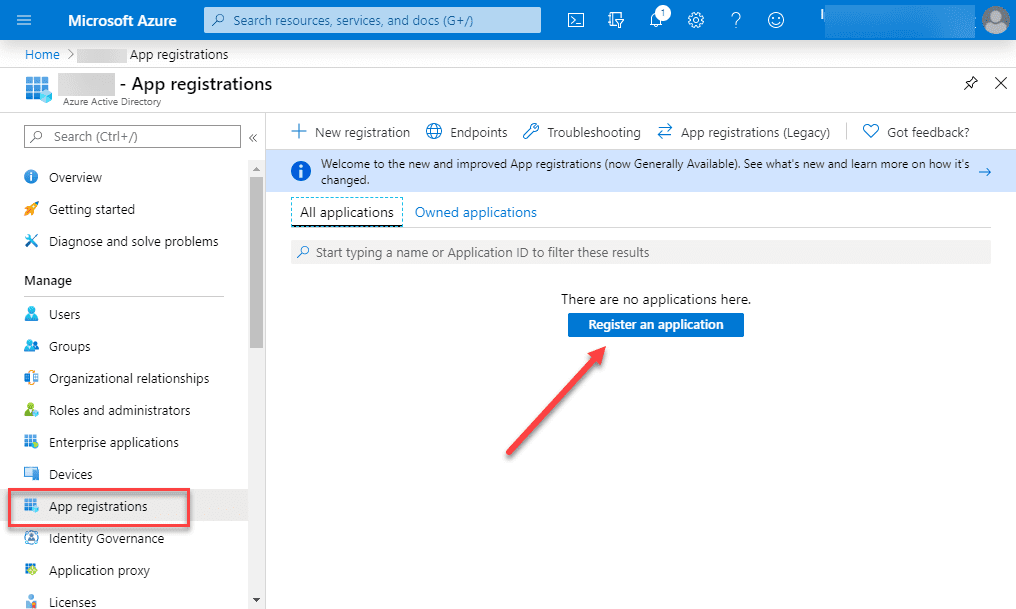 Register-an-application-in-Azure-Active-Directory Backup Office 365 Email with NAKIVO