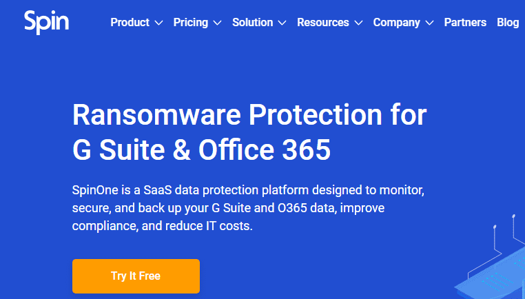 Spinbackup-provides-powerful-backup-and-cybersecurity-features Backup and Secure Google G Suite and Office 365 with Spin Technology
